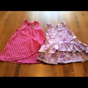 2 Old Navy dresses - size 18-24 months.